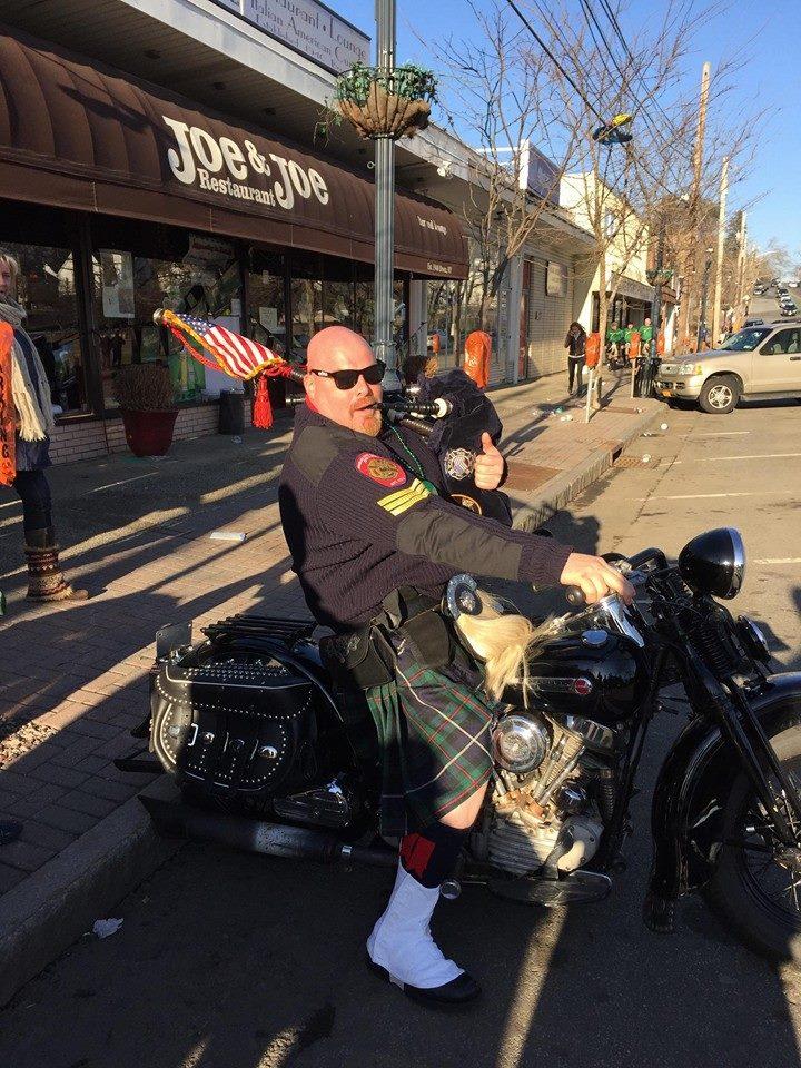 Bagpipes & Harleys
