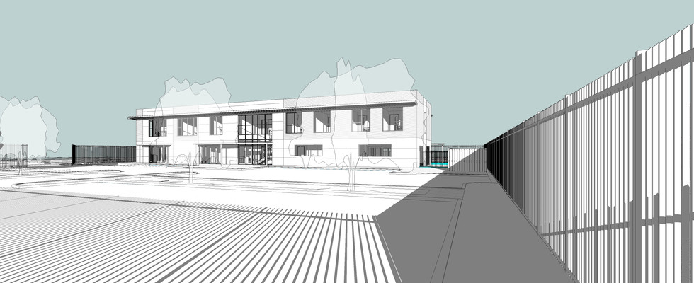19040 - Feasibility - Option D - 3D View
