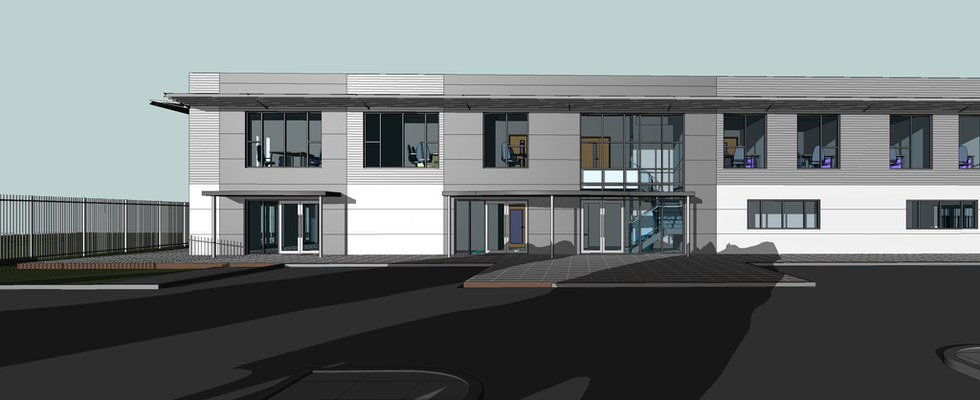 Two Storey Mixed Use Development - Brigg