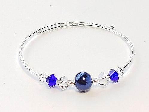Navy Pearl Anklet / Bracelet