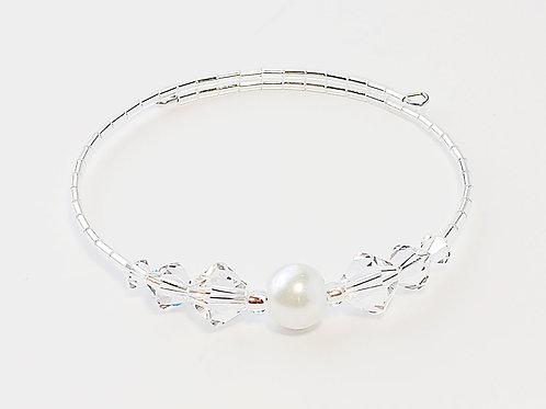 White Pearl Anklet / Bracelet