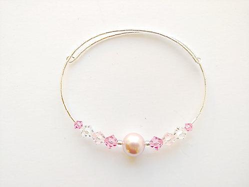 Pink Pearl Anklet / Bracelet