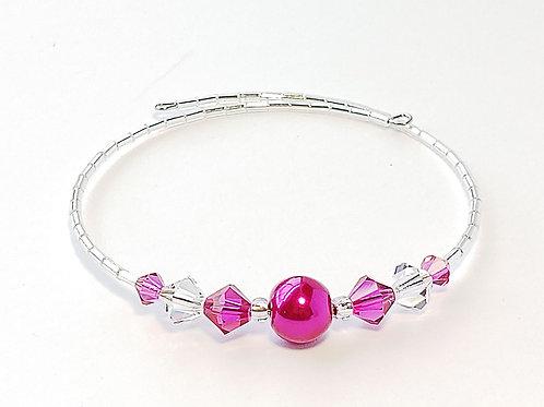 Fushia Pearl Anklet / Bracelet