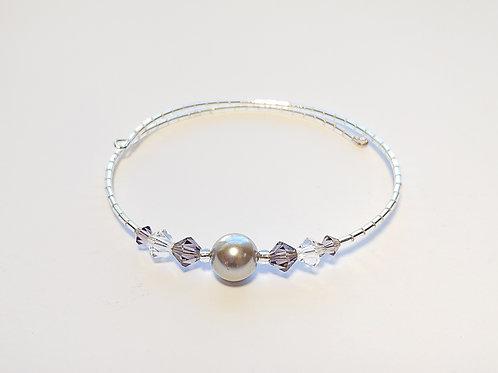 Silver Pearl Anklet / Bracelet