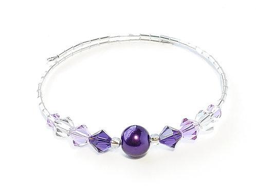 Purple Pearl Anklet / Bracelet