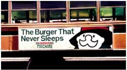 TRANSIT ADS BURGER