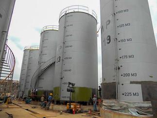 Tank Farm & Bulking Installation