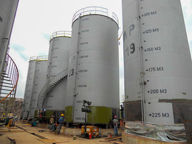 Tank Farm & Bulking Installation