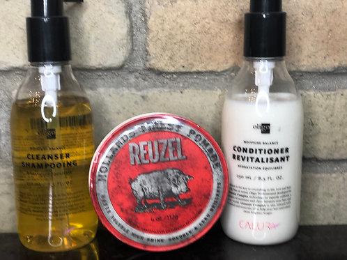 Shampoo Set & Reuzel Gift Pack