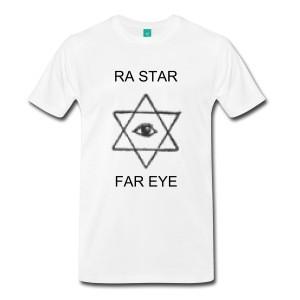 RA STAR FAR EYE/Rastafari T shirt