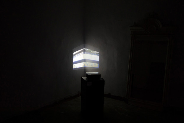 Installation Invisible Borders - Beirut, Berlin