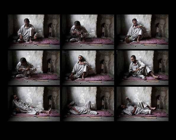 """From the series: """"Addicts, a generation lost to Afghanistan"""""""