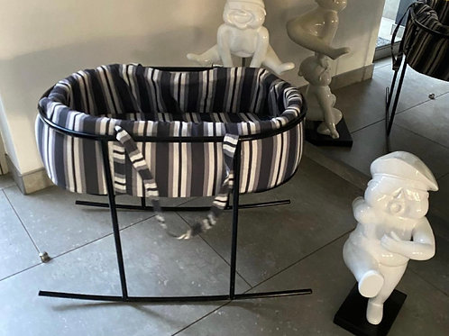 Stripped delicious monster cot (stand NOT INCLUDED)