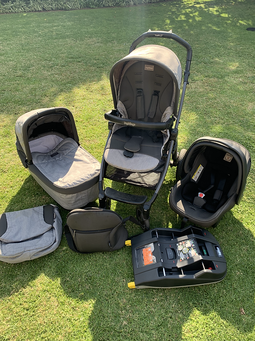 Peg Perego Book Plus S travel system with Isofix base