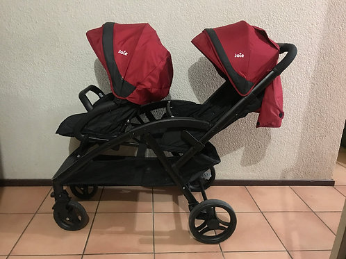 Joie twin/toddler & infant stroller