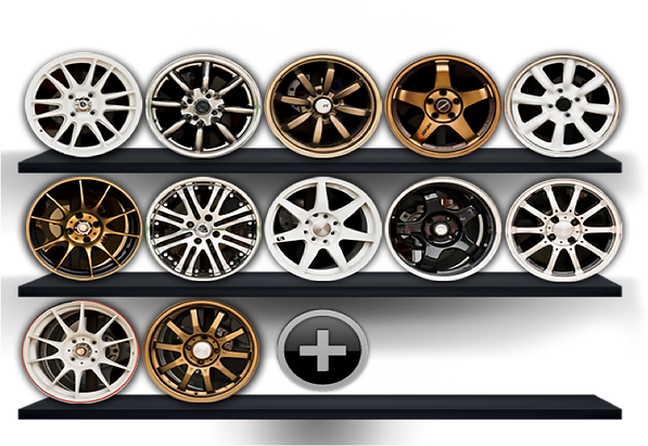 Our end products include:Powder coating,Basecoat and clear coat,Polished Alloys,Split Rims,Hyper Silver and Brilliant finishes,Chrome Shadow,Diamond facing,Specialised paint finishes,Customisation