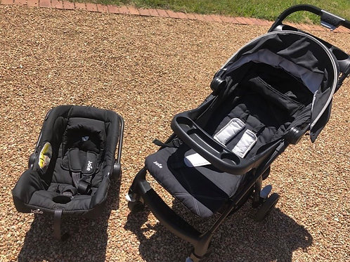 Joie MUZE with car seat