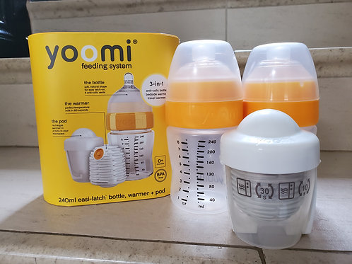 Yoomi Self Warming Bottle - Immaculate (1 Full set + 1 Extra Bottle & Microwave