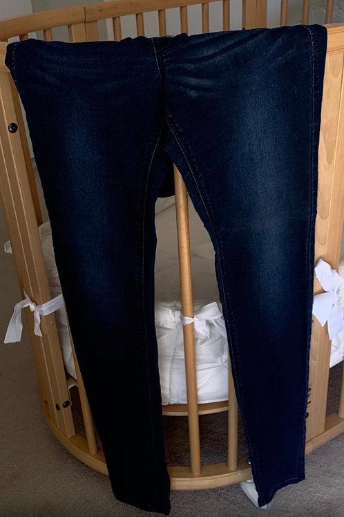 Mama Super Skinny High Rib Preggy Jeans