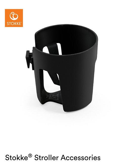 Stokke® Stroller Cup Holder (Black Plastics) - Stokke Cup Holder/BLACK