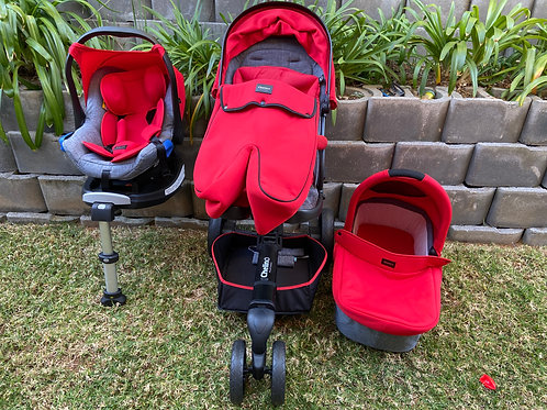 Chelino Marco Travel System 3 in 1 with isofix base
