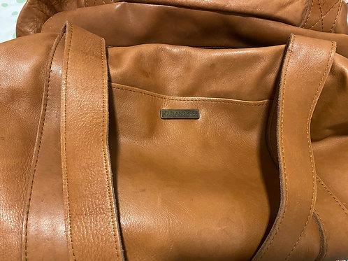 Wild & Free Genuine Leather Large Diaper Bag