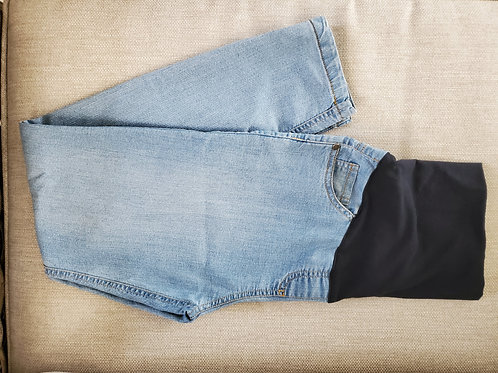 Cherry Melon Skinny Maternity Jeans (34) - Immaculate Condition