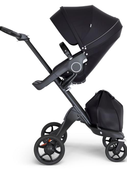 Stokke V6 Xplory Black Melange stroller (SEALED IN BOX)