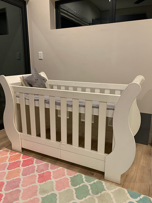 White Tate Cot bought from Kids Emporium