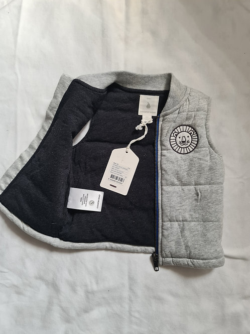 Country Road sleeveless bomber jacket 3-6MNTHS