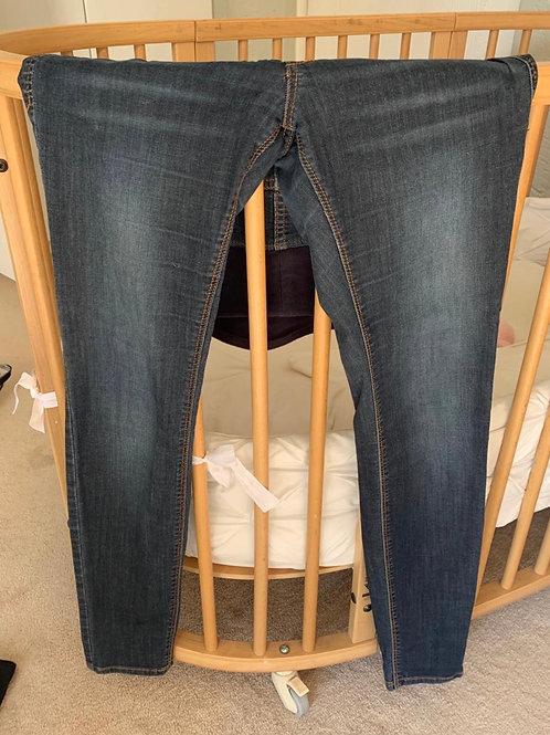 Super Skinny High Rib Preggy Jeans