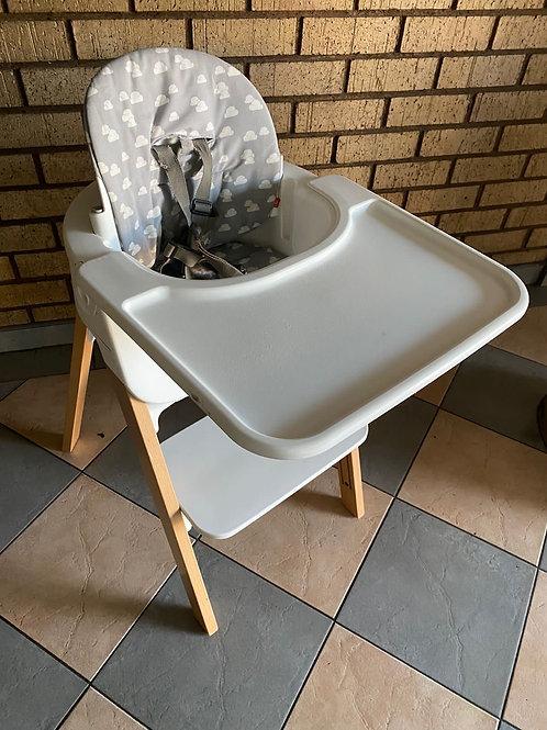 STOKKE STEPS INCLUDING  baby set, cushion, tray & straps