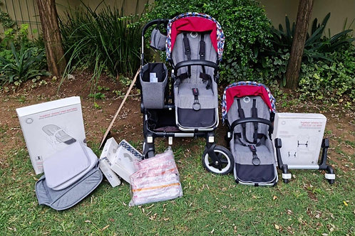Bugaboo DONKEY 2 with all extras