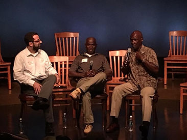 IPF Executive Director Seth Miller and IPF Exonerees, Freed Innocents