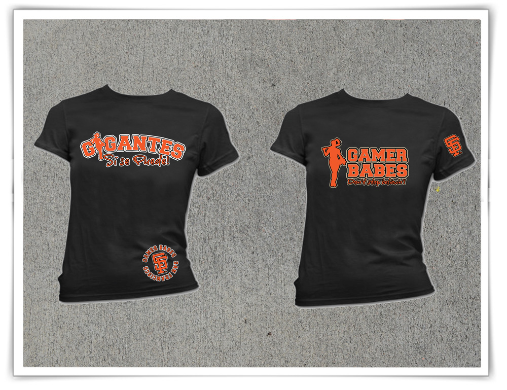 SF Giants - Gamer Babes