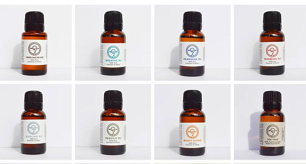 9 Banded Essential Oils