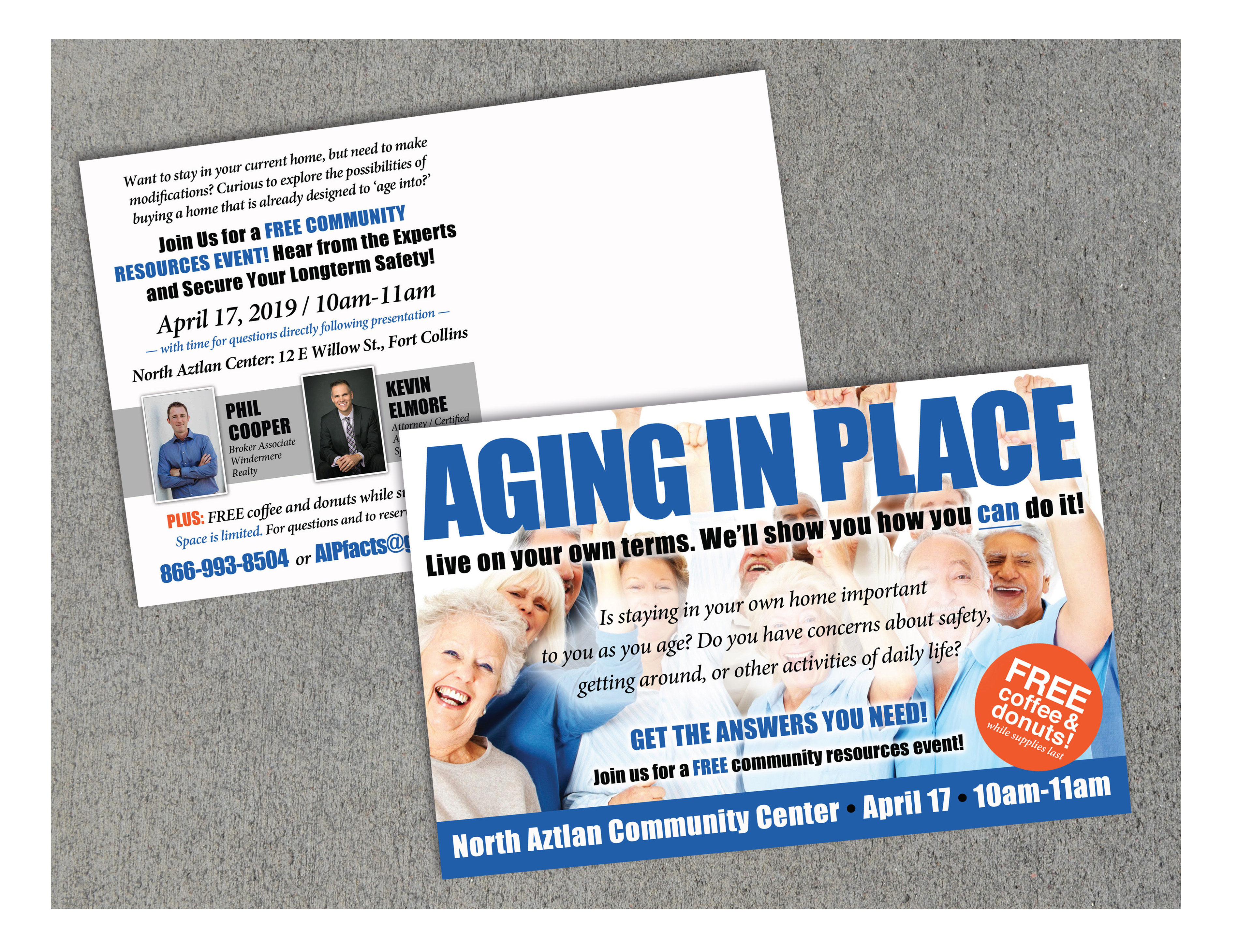 Aging in Place - Direct Mail