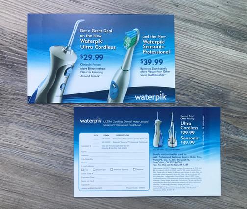 WaterPik Direct Mail