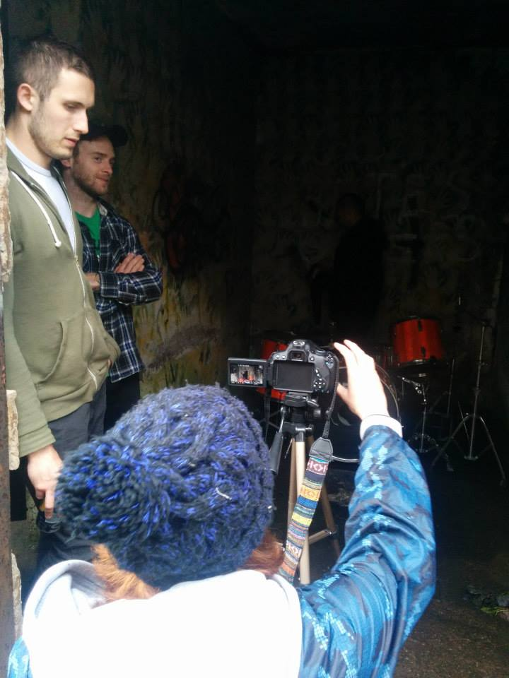 Music Video filming in wales
