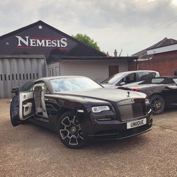 Rolls-Royce Wraith, Black Badge