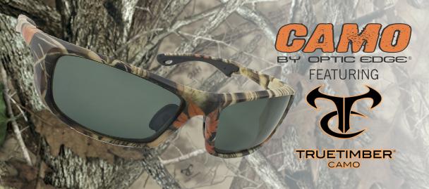 Camo Eyewear featuring TrueTimber Camo