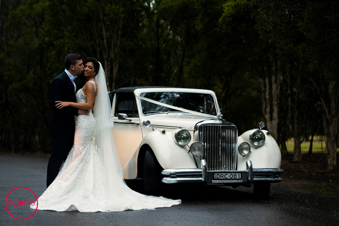 The Wedding of Charlie & Samantha as featured on the 'The Bride's Style'