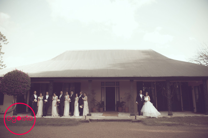 The Wedding of George & Nelly Features on 'The Brides Style'