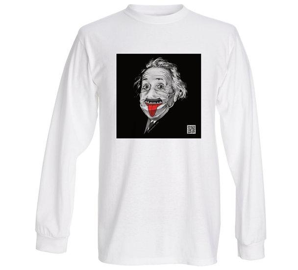 """Men's Long Sleeve T-shirt """"Albert Einstein"""""""