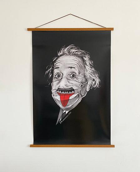 """Glossy Poster """"Albert Einstein"""" 24""""x36"""""""