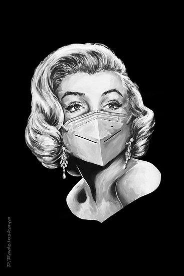 "Postcard ""Marilyn Monroe"" 4""x6"" (Set of 5)"