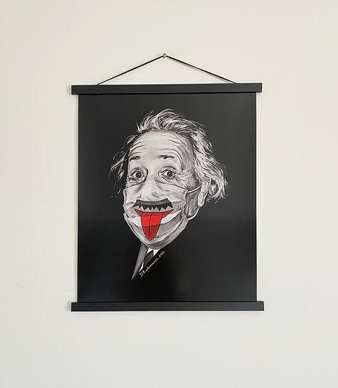 """Matte Poster """"Albert Einstein"""" 16""""x20"""""""