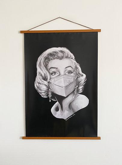 "Glossy Poster ""Marilyn Monroe"" 24""x36"""