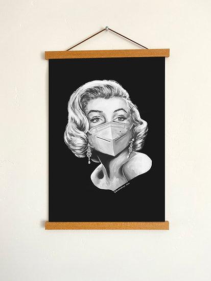 "Glossy Poster ""Marilyn Monroe"" 11""x17"""