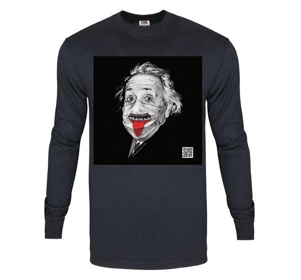 """Women's Long Sleeve T-shirt """"Albert Einstein"""""""